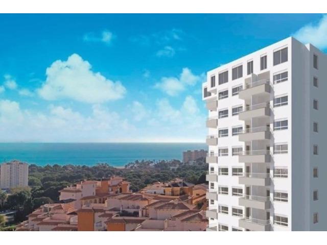 Недвижимость в Испании, Новые квартиры с видами на море от застройщика в Кампоамор