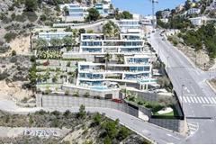Недвижимость в Испании, Новая вилла с видами на море от застройщика в Альтеа,Коста Бланка,Испания